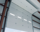 med 1380 garage door commercial amarr